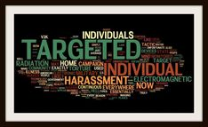"""Targeted Individuals are harassed beyond most peoples comprehension. Please educate yourself and join the fight to stop this inhumane abuse. Google """"Organized Stalking"""" """"Electronic Torture"""" and """"Voice To Skull Technology"""" just to name a few. Help spread the word and expose this sick, high-tech, non-consensual experimentation on humans worldwide!   http://bigbrotherwatchingus.com"""