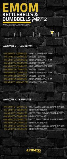 #fitness #dumbbells #kettlebells  #wod #workout