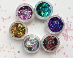 Ultimative klobige Flächensatz Glitter