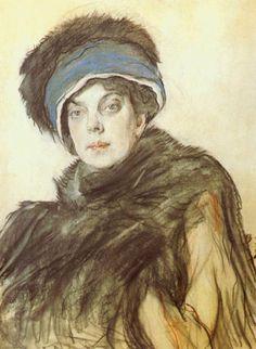 1911 Princess Olga Orlova by Valentin Serov (State Russian Museum - St. Petersburg Russia)