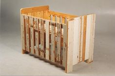 Baby crib made from scrap wood, want to have Chip make a doll size one