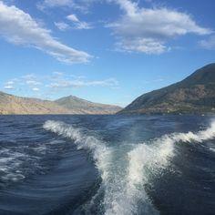 Boating on Lake Chelan