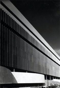 Luigi Moretti - Edifici della SGI allEUR, Roma