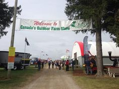 Beautiful day to kick off the Outdoor Farm Show Farm Show, Case Ih, Beautiful Day, Canada, London, Outdoor, Outdoors, Big Ben London, The Great Outdoors