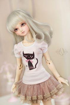 A-S 1/4 Dreamy Gauze Skirt (CL41108171)