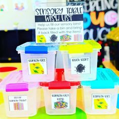 """Jamie & Kelly on Instagram: """"Check out this idea...you might want to save it for back to school time!! @thekinderheartedclassroom found a great way to create lots of…"""" Transportation Activities, Classroom Activities, Classroom Tools, Classroom Environment, Classroom Management, Classroom Decor, Teaching Procedures, Teaching Tools, Sensory Table"""
