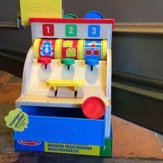 Mooie speel kassa voor de jonge ondernemer.