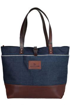 big shopper rrl leather canvas tote shopper bag