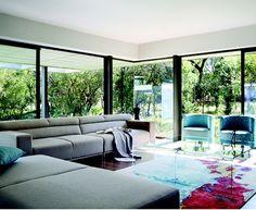 grosartig wandfarbe ideen quadrat - quadrat hocker teak gestell alu baumstamm pinterest wohnzimmer wohnen und wohnideen