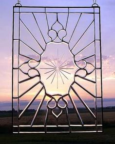 Victorian Beveled Star burst by, Stained Glass and More, Inc.