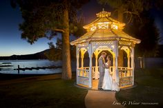 Marina Resort in Big Bear Lake, Wedding with Mike Mensinger and Betty Wong.  My favorite image from the day.  ©Louis G Weiner Photography 2014, all rights reserved