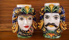 Sicilian ceramic moorish heads: history of the iconic Caltagirone vases