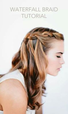 Warerfall braid tutorial