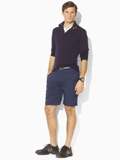 Ralph Lauren (RLX GOLF line) Jersey Half-Zip Sweater  Price: $395.00