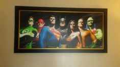 out of 77 . Alex Ross, Justice League, Cool Art, Cool Stuff, Canvas, Painting, Ebay, Tela, Painting Art