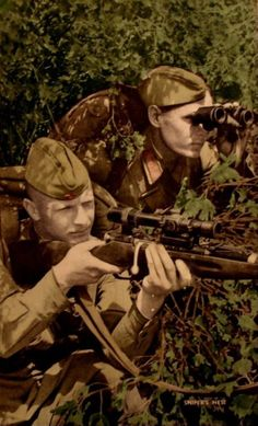 Russian WW2 snipers