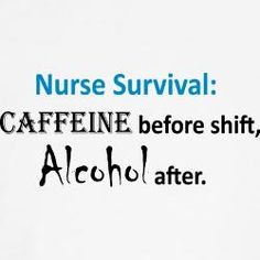 LOL!!! Too bad im always too tired even for the alcohol after