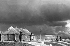 Panmunjom, Korea, the site of military armistice negotiations between representatives of the Communist forces fighting in Korea, and United Nations forces representatives. November 1, 1951. Capt. Edward W. Plummer. (Army)