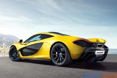 McLaren P1 - Sunny yellow for a drive on the beach!