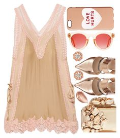 """""""Mini-dress"""" by sunnydays4everkh ❤ liked on Polyvore featuring Chloé, Marc Jacobs, BillyTheTree, Jimmy Choo and Jouer"""