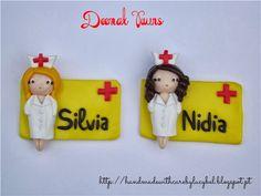 Nurse Brooches