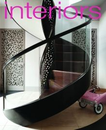 Lately I've been noticing a lot of gorgeous staircases on social media. I was so intrigued by the unique and beautiful designs in staircas. Interiors Magazine, March 2013, February, Textured Walls, Home And Garden, Inspiration, Stairs, Spiral Staircases, Notting Hill