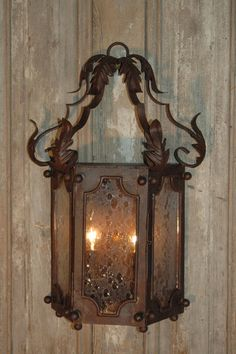 It's like a picture frame light. Aix-en Provence wall sconce.