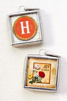 """Joy by Jewel Kade - Happiness is blossoming everywhere with this charm featuring some of the season's most coveted colors.    1"""" x 1"""""""
