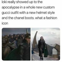 Thor the interior designer and Loki the fashion icon. Funny Marvel Memes, Marvel Jokes, Dc Memes, Avengers Memes, Marvel Dc Comics, Marvel Avengers, Loki God Of Mischief, Loki Thor, Tom Hiddleston Loki