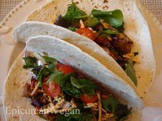 Veggie BBQ Tacos #vegan