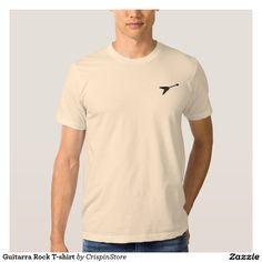 Guitarra Rock T-shirt