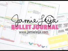 Jamie Leija: Bullet Journal Week of July 17  #bulletjournal #bujo #planner #stamping #stamp #clearstamps #jamieleija