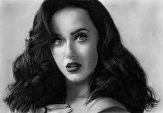Katy Perry drawing by Jossluka