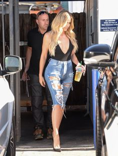 Pin for Later: Khloé Kardashian Steps Out in LA After Her Heated Twitter Exchange With Chloë Grace Moretz