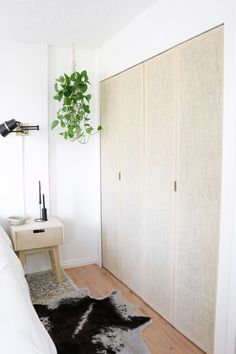 DIY Closet Doors (for laundry room and master closets)