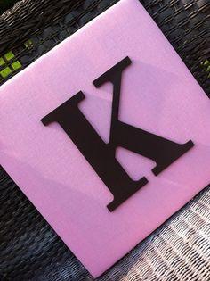 Wall Letters, 15x15, Pink Nursery Letters, Blue Nursery Letters, Twin Nursery Decor. $35.00, via Etsy.