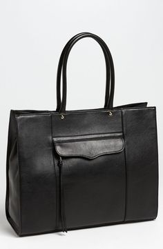 This sleek black Rebecca Minkoff tote would make a fabulous addition to the collection. #nordstrom #anniversarysale @nordstrom