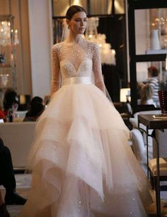 stunning v-neck wedding sexy luxury Evening stunning beading sexy wedding beading bridal dress long sleeve 2018 - Prettiest Pink Wedding Dresses In Different Styles Luxurious Princess Vestido de Noiva Ball Gown Wedding Dresses Bridal Pink Wedding Dresses, Bridal Dresses, Dress Wedding, Tulle Wedding, Couture Wedding Dresses, Bridesmaid Dresses, Prom Dresses, Wedding Dress Sparkle, Romantic Wedding Dresses