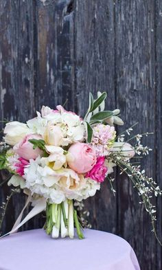 24 Gorgeous Summer Wedding Bouquets ❤ See more: http://www.weddingforward.com/gorgeous-summer-wedding-bouquets/ #weddingbouquets