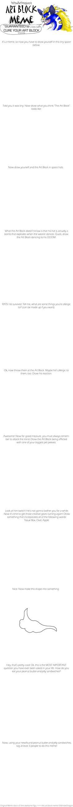 Art Block Meme Blank by WindieDragon.deviantart.com on @DeviantArt