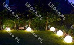 Kula Terra świetnie rozwiązanie do oświetlenia ogrodu. TERAZ w jeszcze niższych cenach, sprawdź na LEDco.pl