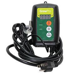 Grow Pro Digital LED Thermostat Seedling Cloning Seed Germination Heat Mat Temperature Controller Probe Grow Pro http://www.amazon.com/dp/B0134W0MDK/ref=cm_sw_r_pi_dp_R7RAwb1D3623B
