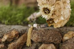 #ramo #novia #papel #matrimonio
