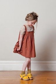 ...what a chic little girl
