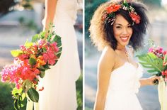 Tropical Brights Wedding Inspiration | SouthBound Bride