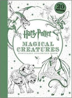 Harry Potter Magical Creatures Postcard Coloring Book! House-elves and merpeople, Cornish pixies and dragons--the wizarding world is populated by an unforgettable cast of magical beings and extraordinary beasts. Filled with detailed illustrations inspired by the #HarryPotter films, these twenty postcards feature the magical creatures of the Forbidden Forest, the Great Lake, and much more.