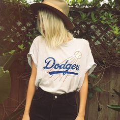 1990 thin and soft Dodgers MLB tee, new in on the vintage page ⚾️ #electricwest #dodgers #losangeles
