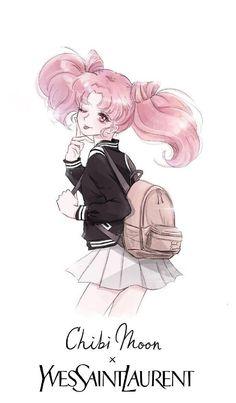 Sailor Moon Fan Art, Sailor Moon Character, Sailor Chibi Moon, Sailor Moon Crystal, Sailor Moon Aesthetic, Sailor Moon Wallpaper, Anime Girl Cute, Sailor Scouts, Awesome Anime