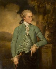 1779 John Downman - John Mortlock of Cambridge and Abington Hall, Great Abington, Cambridgeshire