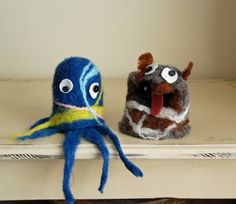 Felted Puppets